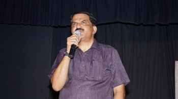 Kannada lyrics writer Prof Krishne Gowda photo